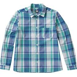 ロングスリーブ PE チェックシャツ W L/S PE CHECK SHIRT HOW41802 (RG)リバーグリーン WSサイズ [アウトドア シャツ レディース]