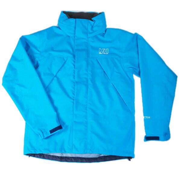 ヘリーレインスーツ HELLY RAIN SUIT HOE11701 (RR)リバーブルー×リバーブルー WSサイズ [アウトドア レインウェア レディース]