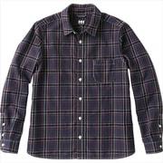 ロングスリーブ ブラッシュドバックチェックシャツ W L/S BB C SHIRT HOW41850 (TR)トリコロール WMサイズ [アウトドア シャツ レディース]