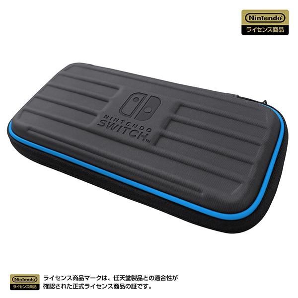 NS2-015 [タフポーチ for Nintendo Switch Lite ブラック×ブルー]