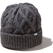 CABLE BEANIE HC91856 (Z)ミックスグレー [アウトドア 帽子]