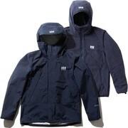 スカンザ3ウェイジャケット Scandza 3WAY Jacket HOE11877 (HB)ヘリーブルー WMサイズ [アウトドア 防水透湿ジャケット レディース]