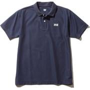 S/S HH Logo Polo HH31901 (HB)ヘリーブルー Sサイズ [アウトドア シャツ メンズ]
