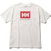 S/S Back Logo Tee HE61903 (W)ホワイト Lサイズ [アウトドア カットソー メンズ]