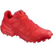 SPEEDCROSS 5 L40684300 HIGH RISK RED/BARBADS CHERRY 25.5cm [トレイルランニングシューズ メンズ]