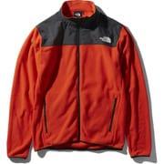 マウンテンバーサマイクロジャケット Mountain Versa Micro Jacket NL71904 (FR)ファイアリーレッド Lサイズ [アウトドア フリース メンズ]