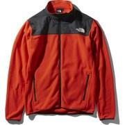 マウンテンバーサマイクロジャケット Mountain Versa Micro Jacket NL71904 (FR)ファイアリーレッド XXLサイズ [アウトドア フリース メンズ]