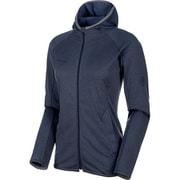 Nair ML Hooded Jacket Women XXL 50126 peacoat melang [アウトドア フリース・セーター]