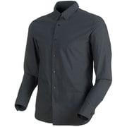 CHALK Shirt Men 1015-00200 00150_phantom Sサイズ [アウトドア シャツ メンズ]