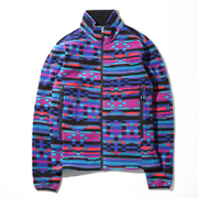 バックアイスプリングスジャケット PM1664 (546)Light Grape Pattern Lサイズ [アウトドア フリース メンズ]
