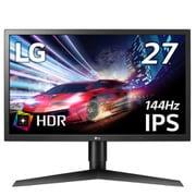 27GL650F-B [27型 UltraGear Gaming Monitor(1920×1080) 144Hz/IPSパネル(ノングレア)/HDR10/FreeSync/DASモード/高さ調整/ピポット/G-SYNC Competible認証取得/フリッカーセーフ]