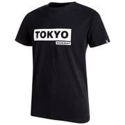 City T-Shirt AF Men 1017-01220 9186_black print To XLサイズ [アウトドア カットソー メンズ]