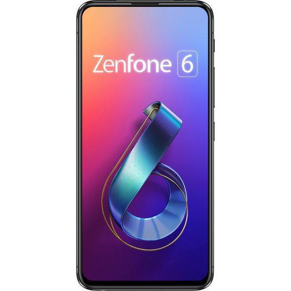 ZS630KL-BK128S6 [SIMフリースマートフォン ZenFone 6(ゼンフォン シックス) 6.4インチ/メモリ 6GB/ストレージ 128GB/Android 9.0/ミッドナイトブラック]