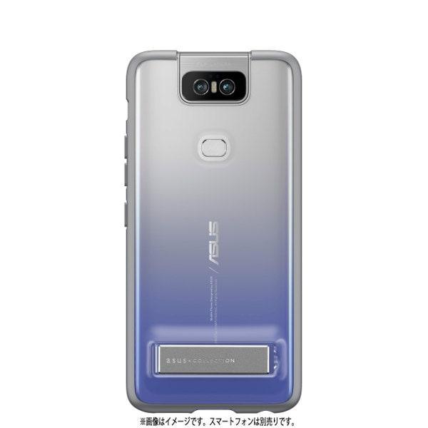 90AC03N0-BCS010 [ZenFone 6(ZS630KL)専用 Stand Case トワイライトシルバー]