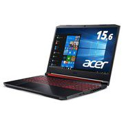 AN515-54-A76UG6T [Core i7-9750H/GTX1660Ti/16GB/256GB SSD+1TB HDD/ドライブなし/15.6型/Windows 10 Home/オブシディアンブラック]