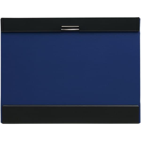 5075アオ [クリップボード マグフラップ A4 タテ型 青]