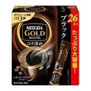 ネスカフェ ゴールドブレンド コク深め スティック ブラック (2g×26P)52g