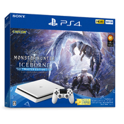 PlayStation 4 MONSTER HUNTER: WORLD ICEBORNE Starter Pack 500GB White (モンスターハンターワールド アイスボーン スターターパック) [CUHJ-10031]