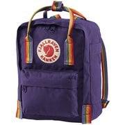 カンケン レインボー ミニ Kanken Rainbow Mini 23621 580-907 Purple-Rainbow Pattern [アウトドア系 小型デイパック]
