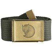 Canvas Brass Belt 4cm 77297 032_M X [アウトドア 小物]