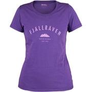 Trekking Equipment T-shirt W 89617 580_Purple Sサイズ [アウトドア カットソー レディース]