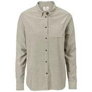 Ovik Chambray Shirt LS W 89973 021_F AM [アウトドア シャツ レディース]