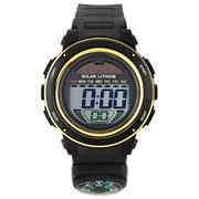 ACY19-BKG [CYBEAT ソーラー併用型デジタル時計 コンパス(方位磁石+)]