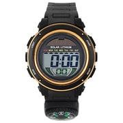 ACY19-BKPG [CYBEAT ソーラー併用型デジタル時計 コンパス(方位磁石+)]
