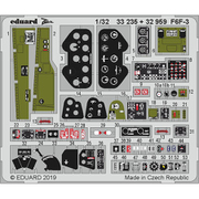 EDU33235 F6F-3 ズームエッチングパーツ トランぺッター用 [1/32スケール エッチングパーツシリーズ]