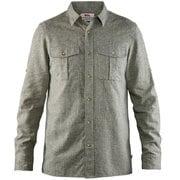 Ovik Travel Shirt LS M 82999 620_Green M [アウトドア シャツ]