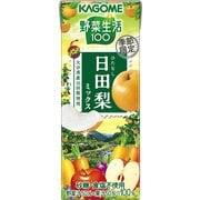 野菜生活100 日田梨ミックス 195mL×24本