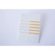 KOBEHA card A6 stripe 20枚入 オレンジ