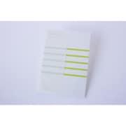 KOBEHA card A6 stripe 20枚入 グリーン