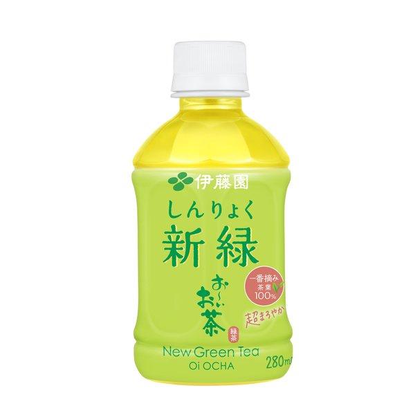 おーいお茶 新緑 280ml×24本 [お茶]