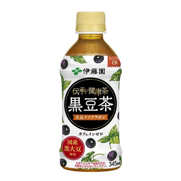 伝承の健康茶 黒豆茶 電子レンジ対応 345ml×24本