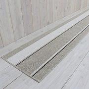 キッチンマット イーズ シナモン 45×252cm ベージュ