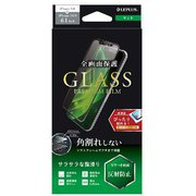 LP-IM19FGSM [iPhone 11/iPhone XR ガラスフィルム「GLASS PREMIUM FILM」 角割れしない 全画面保護 マット]