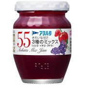 アヲハタ 55 3種ミックス(リンゴ・イチゴ・ブドウ)