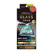 TR-IP19M-GM3-GOBCCBK [iPhone 11/XR ブルーライト低減 立体成型シームレス ゴリラガラス ブラック]