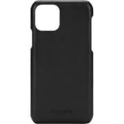 CIPH-004-BLK [iPhone 11 Pro LEATHER SLIM WRAP CASE MIDNIGHT BLACK]