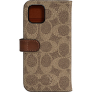 CIPH-020-SCKHK [iPhone 11 WALLET CASE SIGNATURE C FOLIO Khaki]