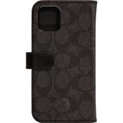 CIPH-020-SCBLK [iPhone 11 WALLET CASE SIGNATURE C FOLIO Black]