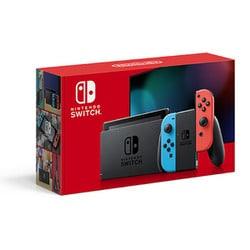 Nintendo Switch Joy-Con(L)ネオンブルー/(R)ネオンレッド バッテリー持続時間が長くなった新モデル [Nintendo Switch本体]