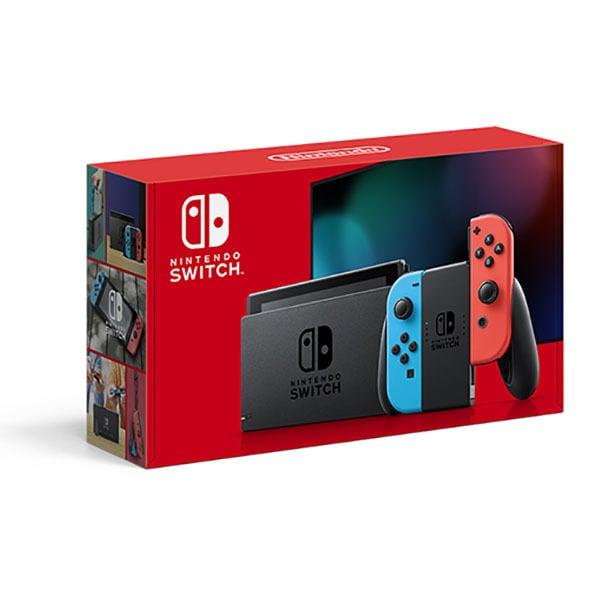 Nintendo Switch Joy-Con(L)ネオンブルー/(R)ネオンレッド [Nintendo Switch本体]