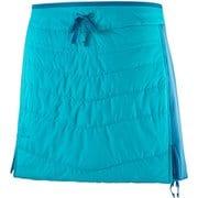 DRIFTER MID SKIRT W LC1146700 TILE BLUE/LYONS BLUE XSサイズ [アウトドア スカート レディース]