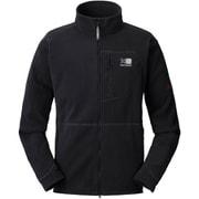 trailzip fleece 2J08MAI1 Black Lサイズ [アウトドア フリースジャケット メンズ]