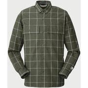 kilda L/S shirts 245725 KHAKI XLサイズ [アウトドア シャツ メンズ]