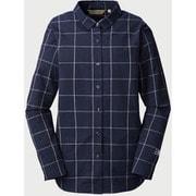 kilda W's L/S shirts 247614 Navy Lサイズ [アウトドア シャツ レディース]