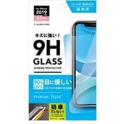 PG-19BGL05 [iPhone 11/XR用 液晶保護ガラス ブルーライト低減/光沢]