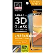 PG-19BGL02H [iPhone 11/XR用 3Dハイブリッドガラス アンチグレア]